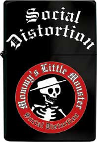 Social Distortion Little Monster Refillable Metal Lighter
