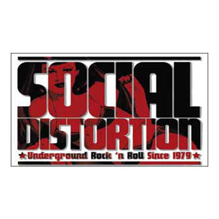 Social Distortion Logo Magnet