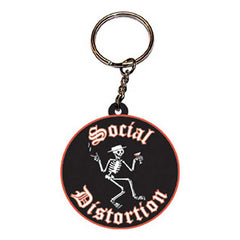 Social Distortion Rubber Keychain