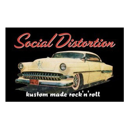 Social Distortion Car Magnet