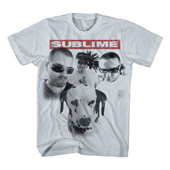 Sublime Group Photo with Dog Mens Soft T-Shirt