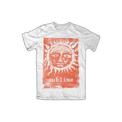 Sublime Orange Sun Glow Mens Lightweight T-Shirt
