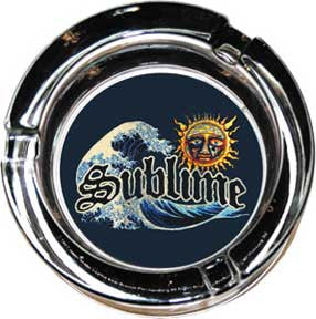 Sublime Weeping Sun Glass Ashtray