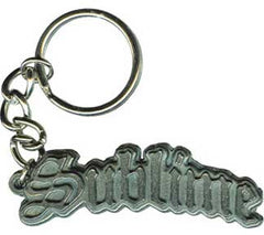 Sublime Logo Metal Keychain
