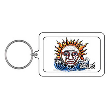 Sublime Weeping Sun Keychain