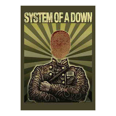 System of a Down Soldier Fabric Poster
