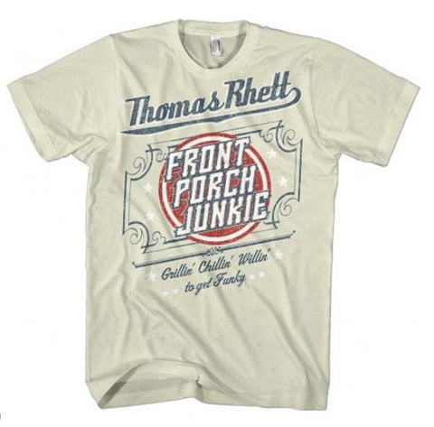 Thomas Rhett Front Porch Junkie Country T-Shirt