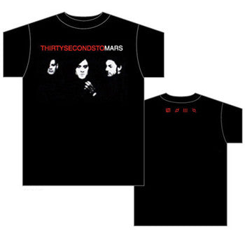 Thirty Seconds to Mars Floating Faces T-Shirt