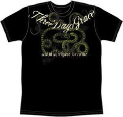 Three Days Grace Animal Snakes T-Shirt