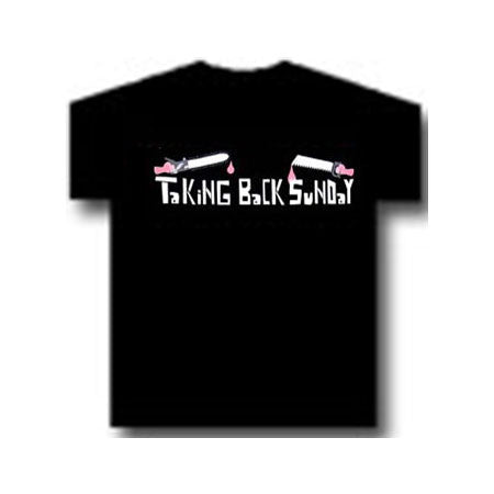 Taking Back Sunday Chainsaws Mens T-Shirt