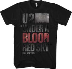U2 Under the Blood Red Sky Slim Fit T-Shirt
