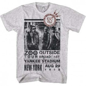 U2 Outside Zoo Tour Slim Fit T-Shirt