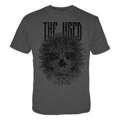 The Used Porcupine Skull Mens Lightweight T-Shirt