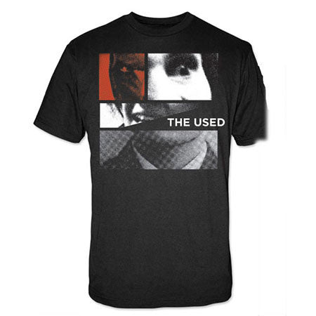 The Used Collage Face Mens T-Shirt