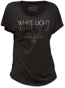 Velvet Underground White Light White Heat Juniors Dolman T-Shirt