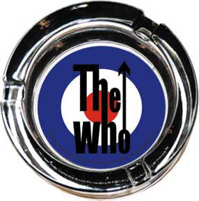 The Who Target Glass Ashtray