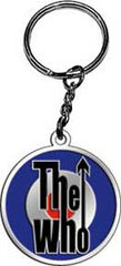 The Who Target Metal Keychain