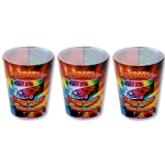 Woodstock Bus Shot Glass 3 Pack
