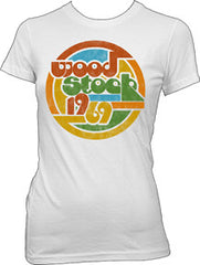 Woodstock Circle 69 Juniors Tissue T-Shirt