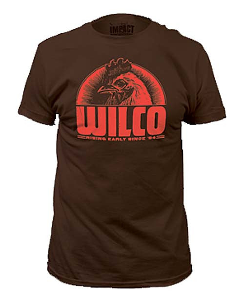 Wilco Rising Early Since 94 Rooster T-Shirt