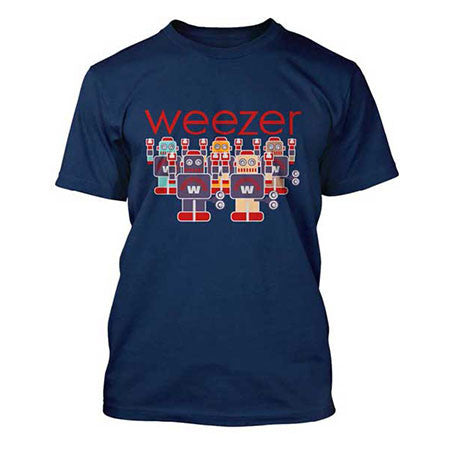 Weezer Invasion Mens Lightweight T-Shirt