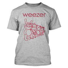 Weezer Make Believe Mens Lightweight T-Shirt