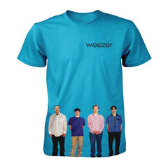 Weezer Blue Album Mens Lightweight T-Shirt