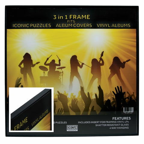 3 In 1 Album Size Picture Frame
