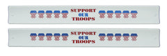 Patriotic Slap Bands - Support Our Troops