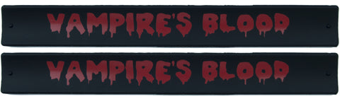 Halloween Slap Bands - Vampires Blood