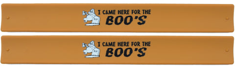Halloween Slap Bands -  I Came Here For The Boos