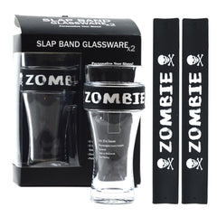 Halloween Slap Band Glassware - Zombie