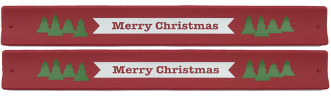 Holidays Slap Bands  - Merry Chirstmas