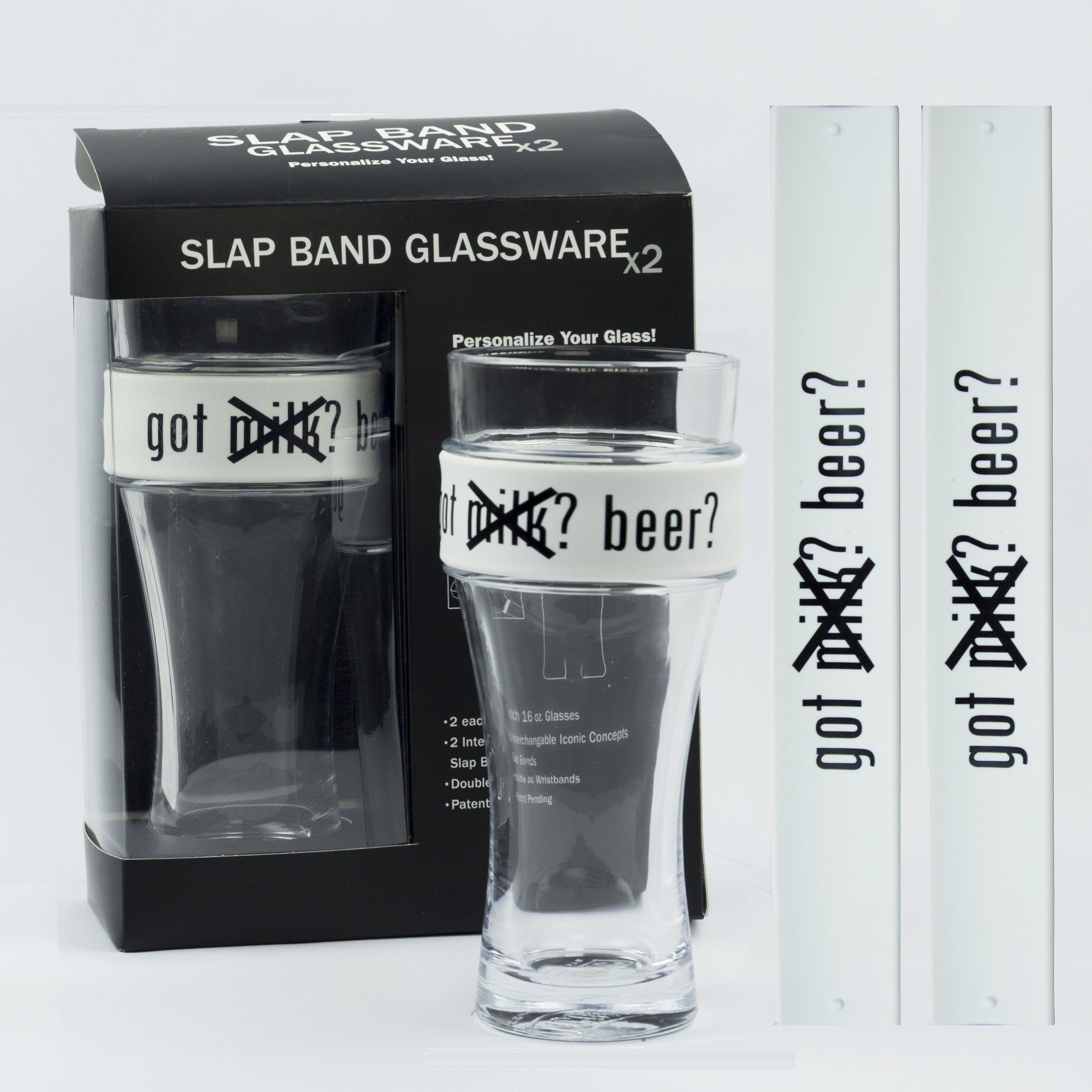 Humor Slap Band Glassware - Got Beer?