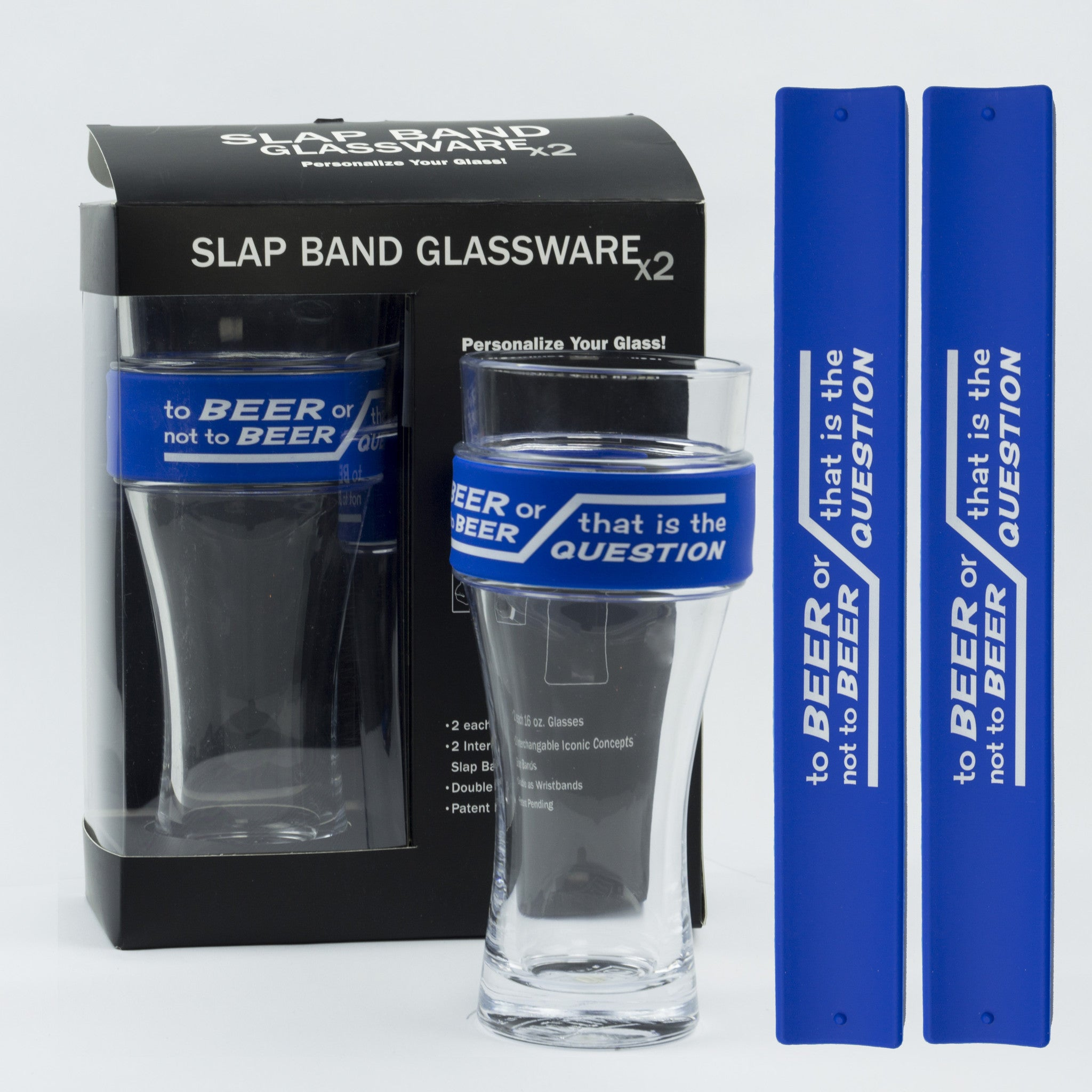 Humor Slap Band Glassware - To Beer Or Not To Beer...That Is The Question