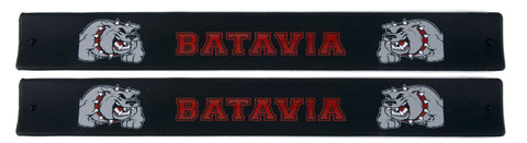 Batavia Slap Bands - Black With Bulldog
