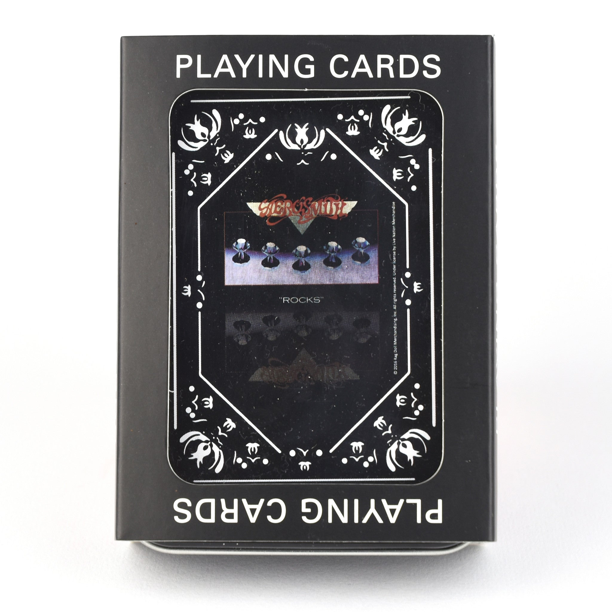 Aerosmith Rocks Single Deck Playing Cards
