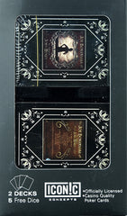 Joe Bonamassa Playing Cards - John Henry Dual Deck w/Dice