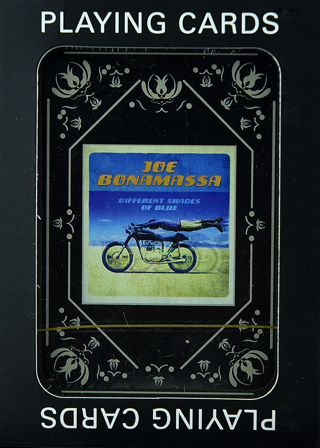Joe Bonamassa Playing Cards - Different Shades Of Blue Single Deck