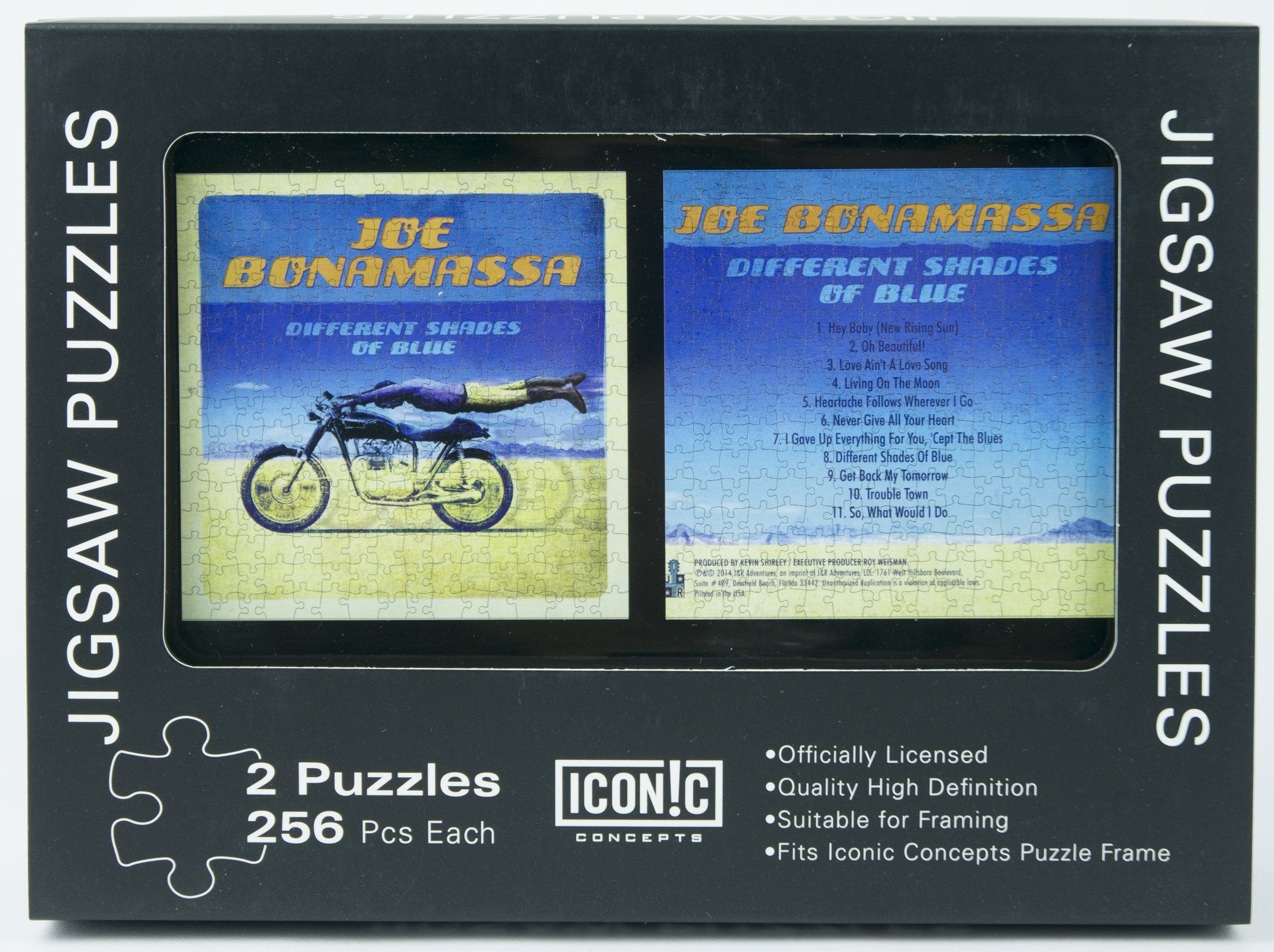 Joe Bonamassa Dual Pack Puzzle - Different Shades Of Blue