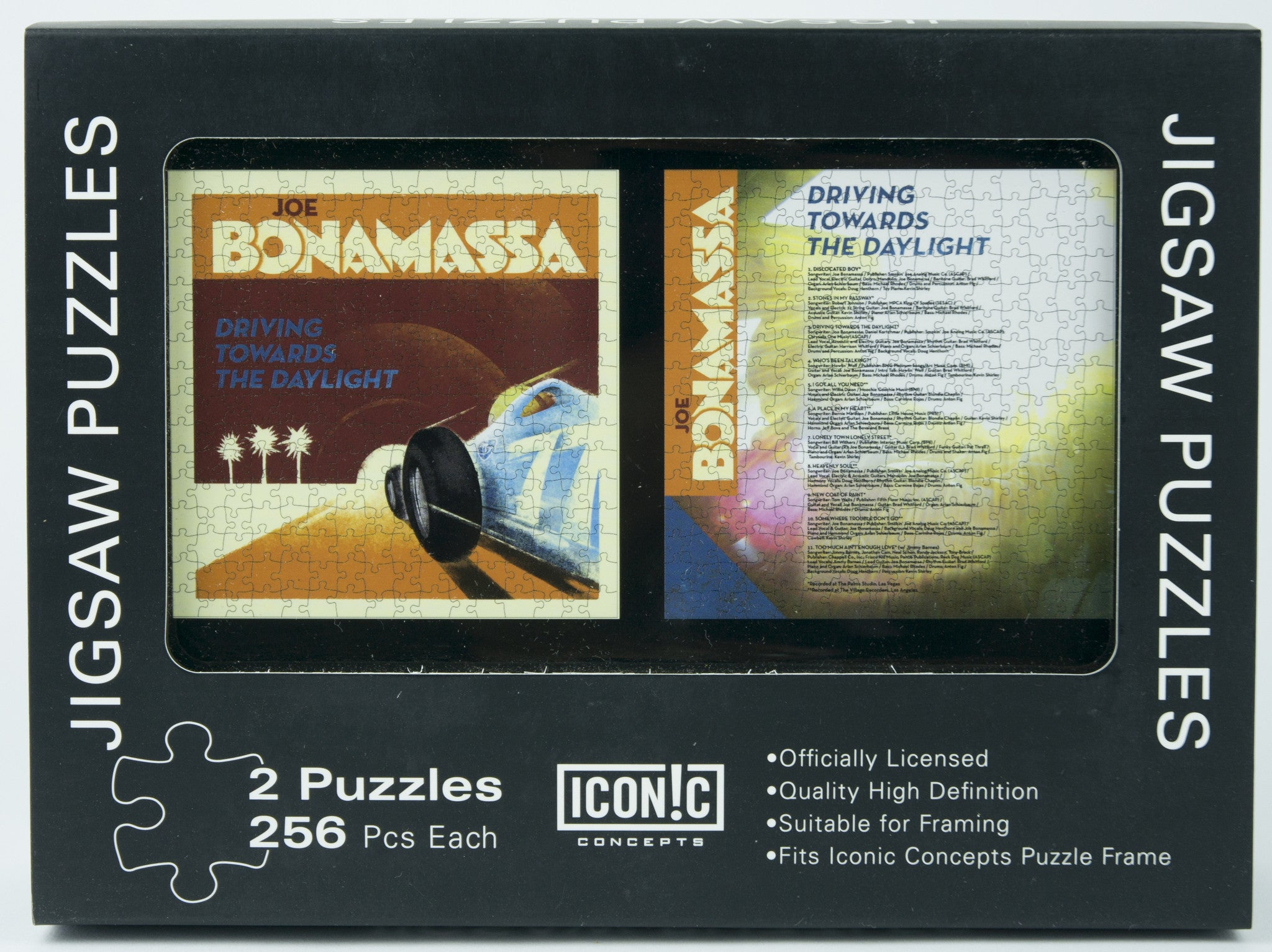 Joe Bonamassa Dual Pack Puzzle - Driving Towards The Daylight