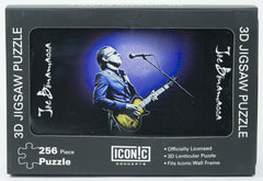 Joe Bonamassa 3D Puzzle - Playing Gold Guitar With Blue Jacket