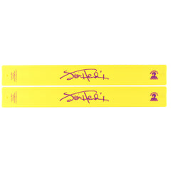 Jimi Hendrix Logo Slap Bands 2 Pack Yellow w/Purple Logo