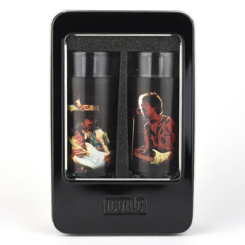 Jimi Hendrix - 2 Piece Shot Glass Set - SILHOUETTES
