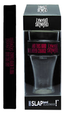 "Lynyrd Skynyrd Slap Band Glassware - Single Pack with Slap Band Lynyrd Skynyrd Black Band/Red ""And this Bird…"""