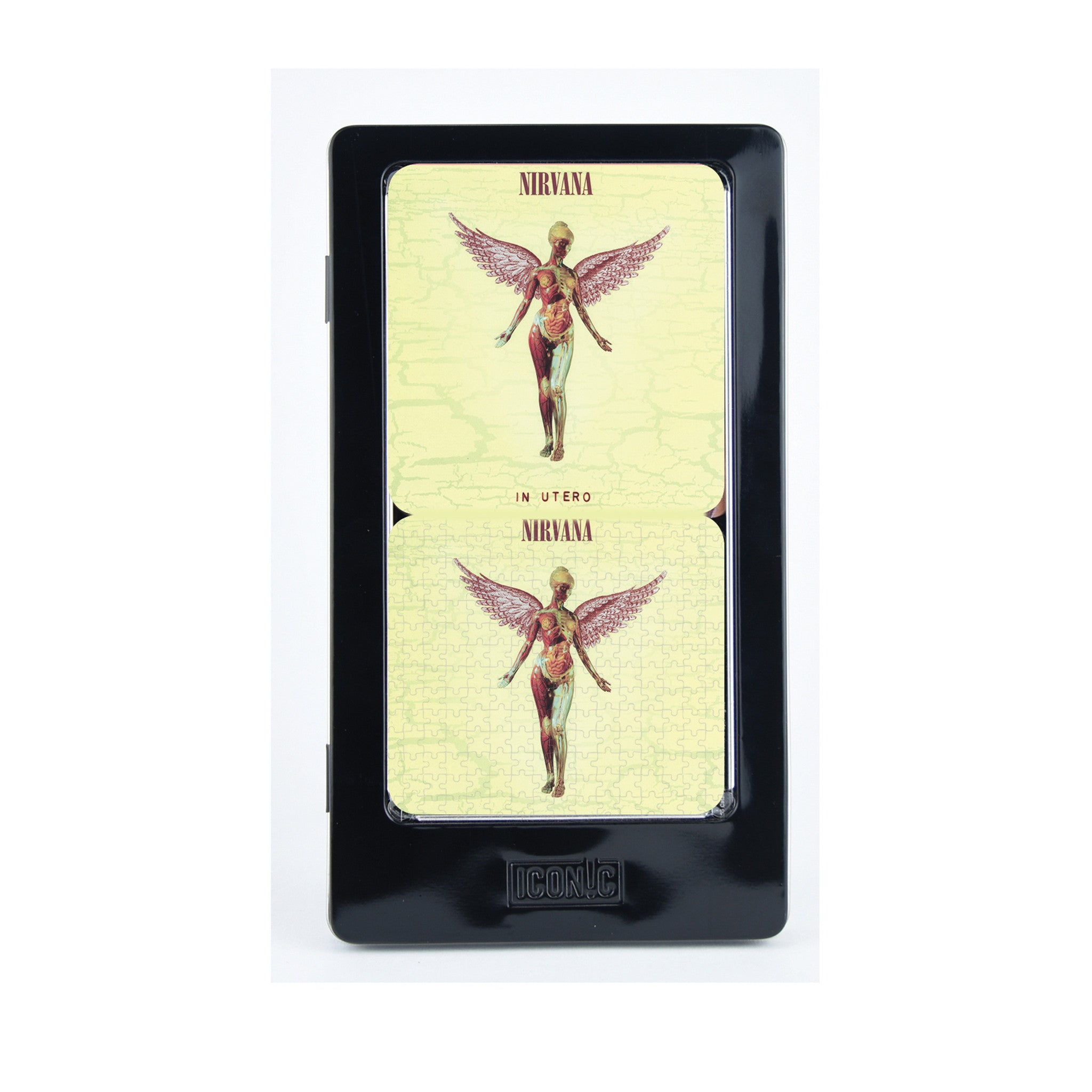Nirvana In Utero 6 Piece Tin Coaster Set