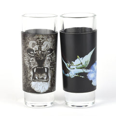 Santana 2 Piece Shot Glass Set - Angels & Hands