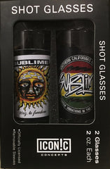 Sublime 2pc Shot Glass Set
