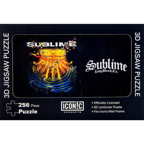 Sublime Everything Under the Sun 3D Lenticular Jigsaw Puzzle