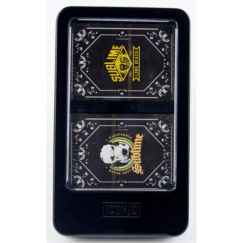 Sublime Double Deck Playing Cards w/Dice Set